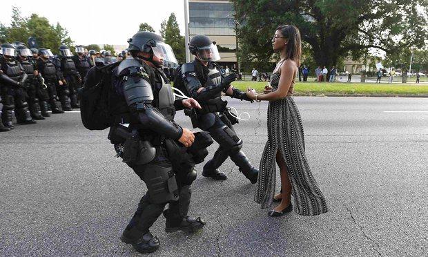 A mulher de Baton Rouge